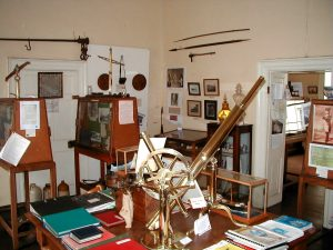 St Helena Museum interior back room