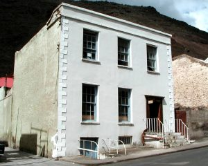 The old St Helena Museum