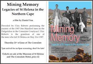 Mining Memory - St Helena
